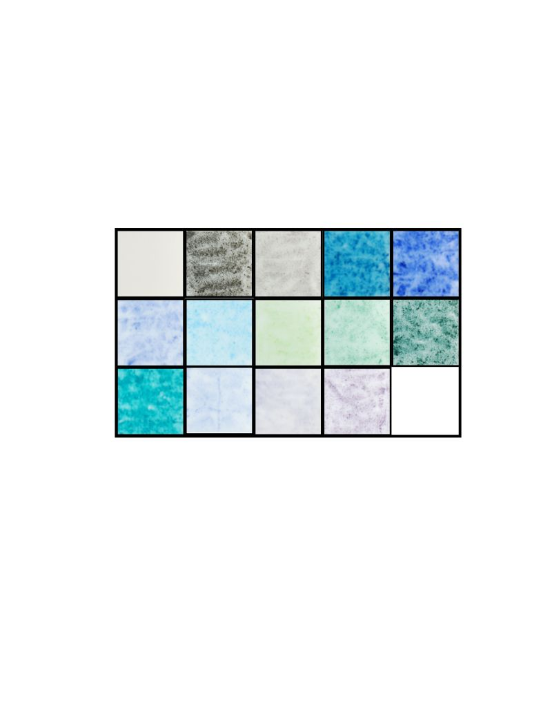 CH34 - GLACIAL COLOR CHALK KIT